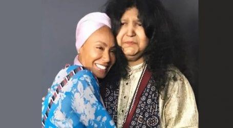 Jade Pinkett Smith adores her 'spiritual mother' Abida Parveen