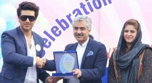 Actor Ahsan Khan becomes Punjab Child Protection