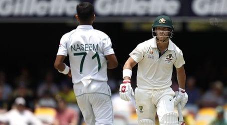 First Test match: Australia scores 395 against Pakistan