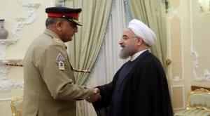 General Bajwa, President Rouhani agree to boost security ties