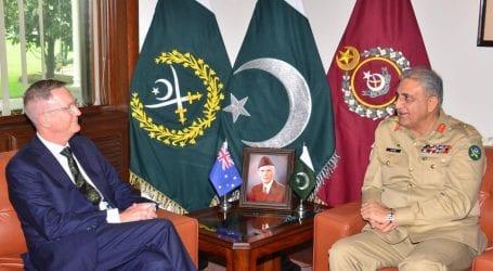 Australian High Commissioner calls on General Bajwa