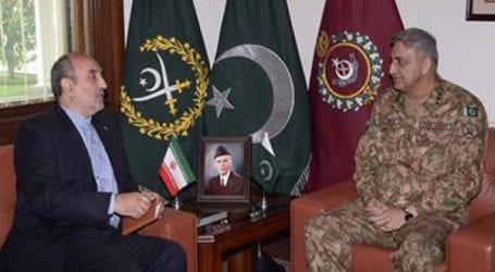 Iranian envoy Mehdi Hunardost meets Army Chief