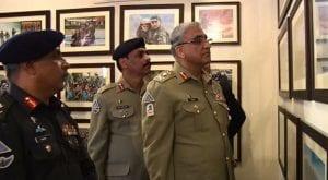 COAS Bajwa visits Frontier Corps Headquarter in Peshawar