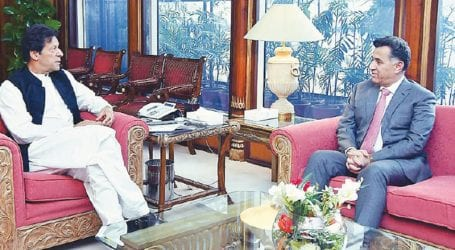 DG ISI, PM Imran discuss national security issues