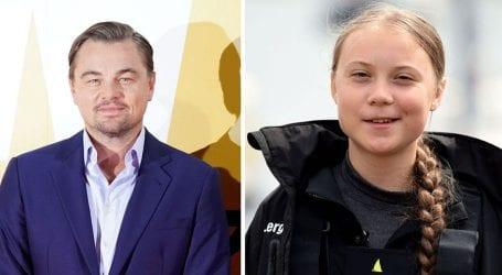 Leonardo DiCaprio praises climate change activist Greta