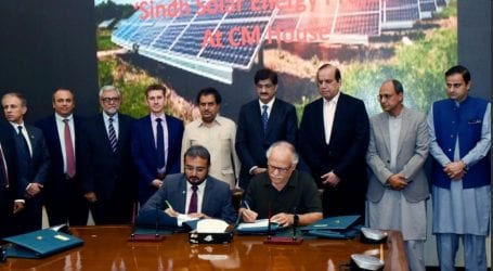 Firms sign MoUs for Sindh Solar Energy Project: spokesperson