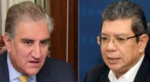 FM Qureshi discusses bilateral issues with Malaysian counterpart