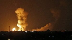 Israeli airstrikes kills one Palestinian in Gaza