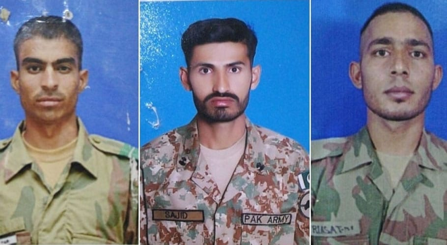 IED blast in N. Waziristan martyrs three soldiers