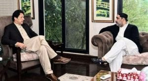 PM meets SAFRON minister Sahabzada Sultan in Islamabad