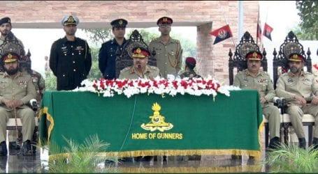 Gen Zubair Mahmood Hayat paid farewell visit to 'Home of Gunners'