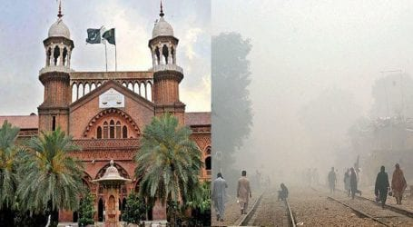 LHC adjourns hearing of curbing smog in Punjab for 9 days