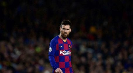 Messi marks his 700th game for Barcelona