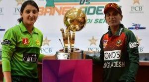 Pakistan announces squad for Bangladesh women ODIs