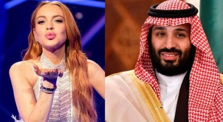Lindsay and Saudi Crown Prince share 'platonic' relationship