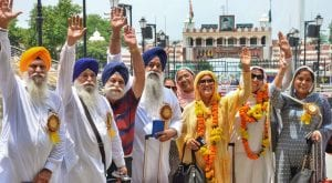 Over 1,000 Indian Sikhs pilgrims arrive in Pakistan