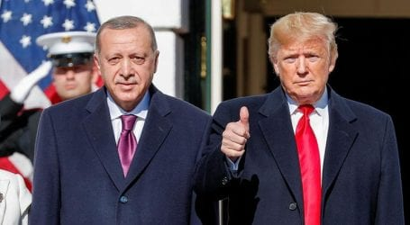 Trump ignores controversy to focus on Erdogan friendship