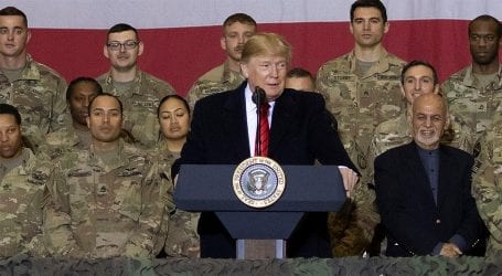 Trump to reduce troop levels in Afghanistan, Iraq