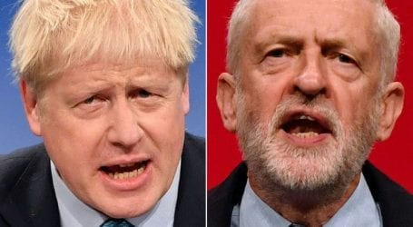 Johnson compares Corbyn to Stalin at campaign launch