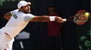 Pakistan's top tennis players boycott India in Davis Cup tie today