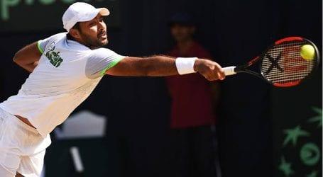 Pakistan's top tennis players boycott India in Davis Cup tie today
