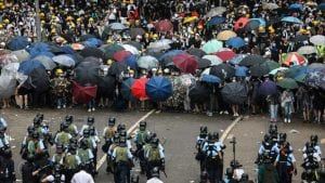 Hong Riot Police