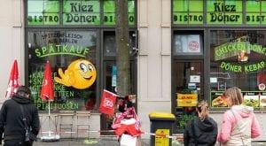 german kebab shop