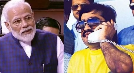 BJP accused of being financed by gangster Dawood Ibrahim