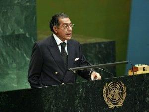 UN welcomes new Pakistani Ambassador Munir Akram in its HQ