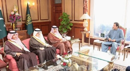 Saudi Prince meets PM to discuss matters of mutual interest