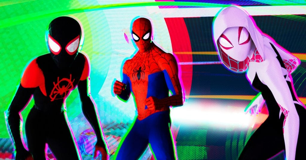 Spider-man in to the spider verse
