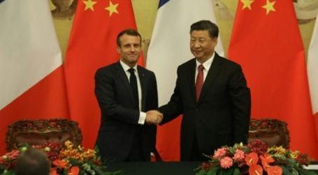 Xi, Macron unite on climate after US withdraws Paris pact