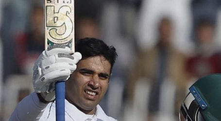 Abid Ali hits consecutive centuries in first two Tests