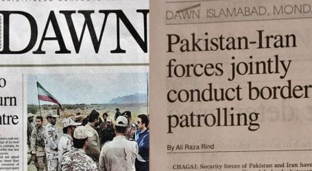 No joint patrolling anywhere near Pakistani borders: ISPR