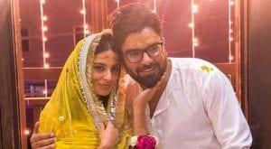 Iqra, Yasir start their wedding festivities with 'mayun'