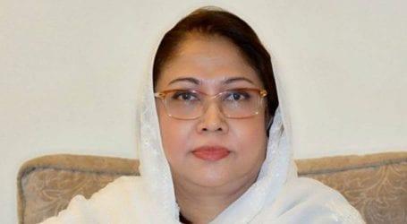 Judicial remand of Faryal Talpur extended for 21 days