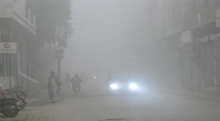 Heavy fog continues in many parts of Pakistan