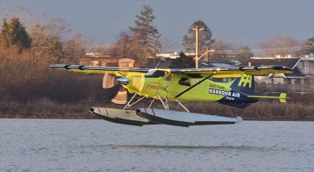 World's first commercial electric plane takes flight in Canada