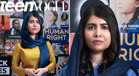 Malala appears on Teen Vogue's final cover of decade