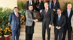 Honored to host Russian Trade and Industry Minister: Hammzad Azhar