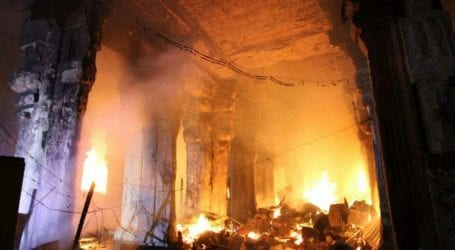 Six members of a family burned to death in Gujrat