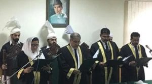 IHC gets first woman judge as Justice Lubna Saleem Pervez takes oath