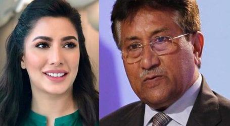 Mehwish Hayat comes out to defend Pervez Musharraf