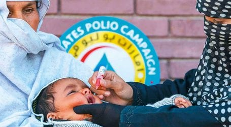 Five-day anti-polio campaign begins across the country