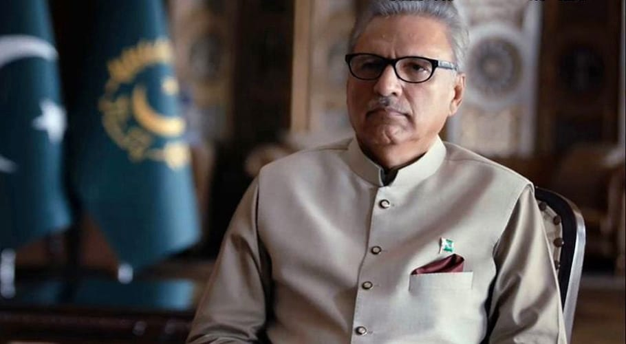 Image result for Conflicts being imposed on Pakistan from Indian side: President Alvi