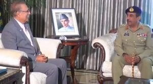 Chairman CJCSC, called on President Arif Alvi