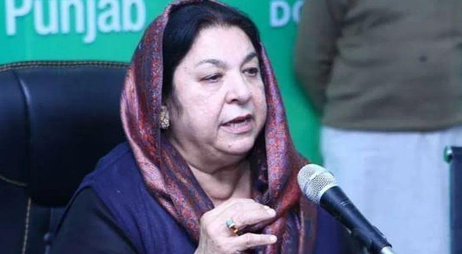 Yasmeen Rashid criticizes on Nawaz Sharif's cafe photo