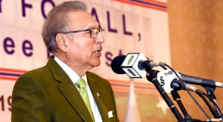 Corrupt elements being held accountable, says President Alvi