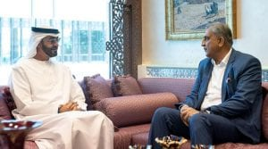 abu dhabi crown prince meets general bajwa