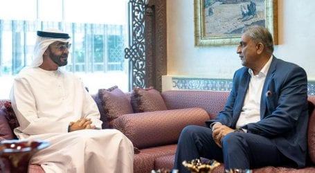 Abu Dhabi Crown Prince meets Gen Bajwa